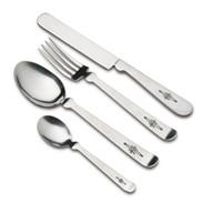 不锈钢餐具打标