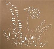 皮革激光雕花